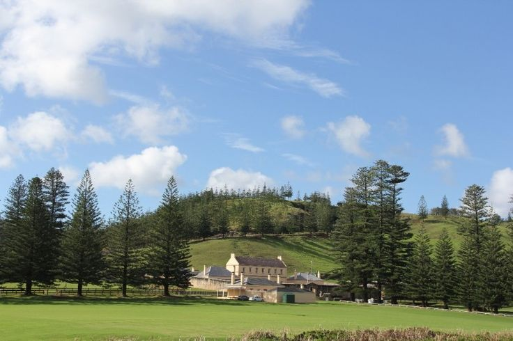 My heart sings country music on Norfolk Island
