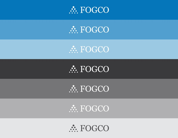 Corporate identity & rebranding Fogco Systems, Inc. by Levi Wintering, via Behance