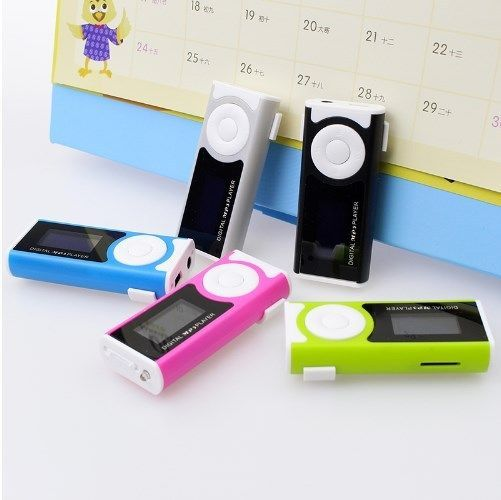 Portable Shiny Mini USB Clip LCD Screen MP3 Media Player Support 16GB Micro SD…
