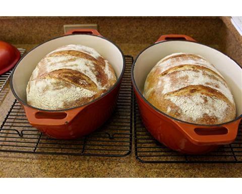 Dutch Oven Baking - Atta Durum Flour and K.A. Bread Flour | The Fresh Loaf
