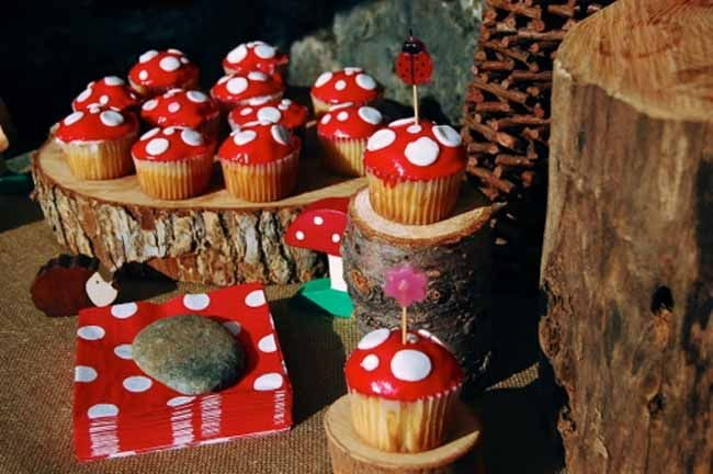 Woodland Gnome & Fairy Birthday {Boy Girl} - Spaceships and Laser Beams