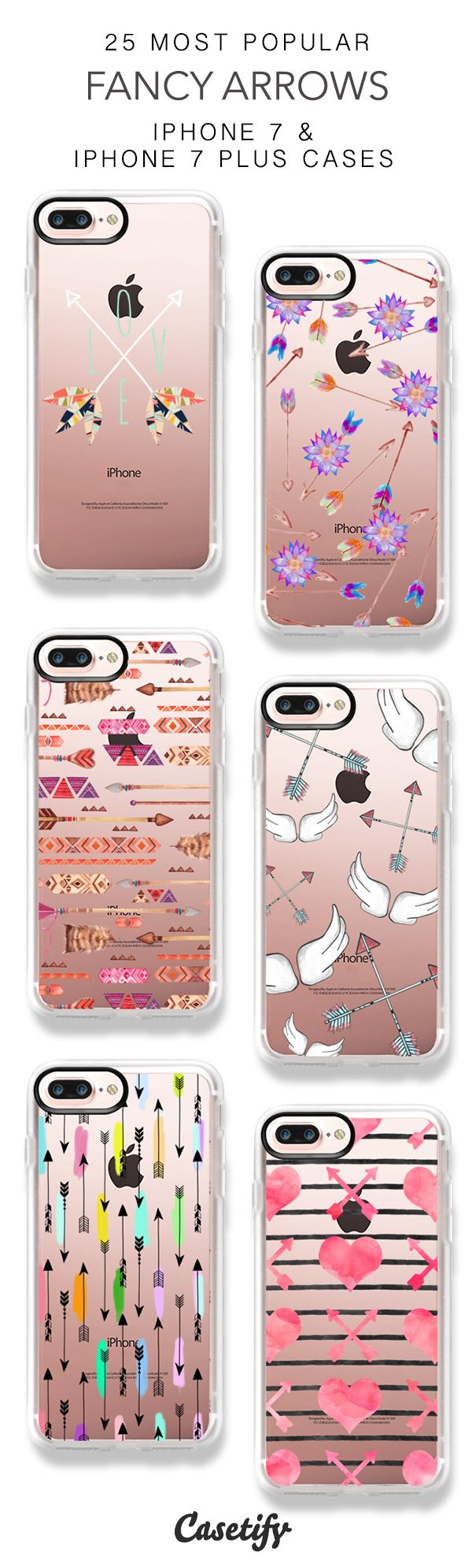 25 Most Popular Fancy Arrows Protective iPhone 7 Cases and iPhone 7 Plus Cases. More Pattern iPhone case here > https://www.casetify.com/collections/top_100_designs#/?vc=Q9FQq2pHf6