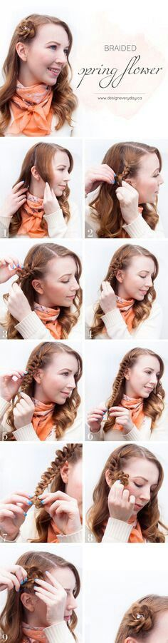 Spring hairstyles #2