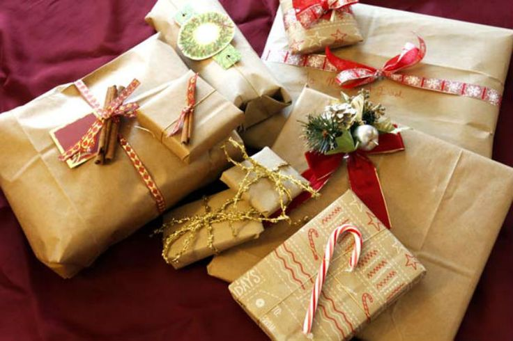 Embalagens de presentes