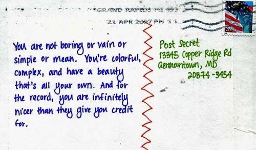 : Colleges Girls, Positive Reinforcement, Favorite Postsecret, Inspiration, God Is, Beautiful, Cool Ideas, Posts Secret, Favourit Postsecret