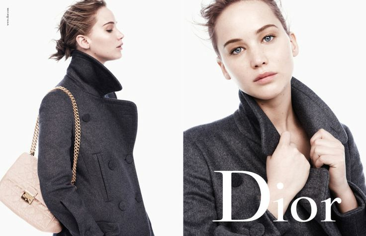 Jennifer Lawrence for Dior | Photography by Daniel Jackson