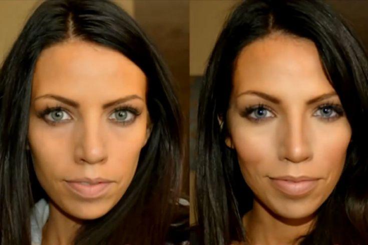 """""""Highlighting und Contouring"""" kann ein unscheinbares Mauerblümchen in eine Sexbombe verwandeln, jedoch kann man mit dieser Make-Up Technik auch sehr viel falsch machen."""