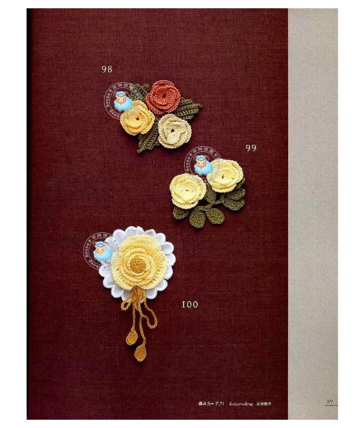 AO - Crochet Rose Pattern by Mariangela Sorbilli - issuu