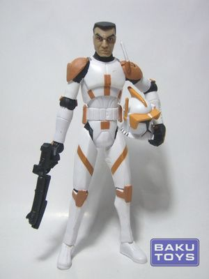 Star Wars 3.75 Commander Cody TCW