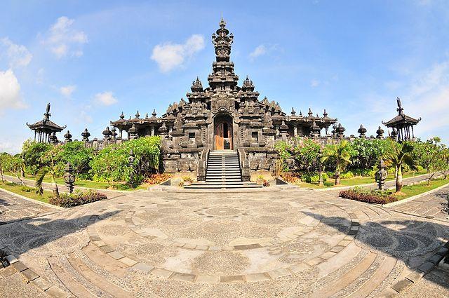 A temple in Denpasar.