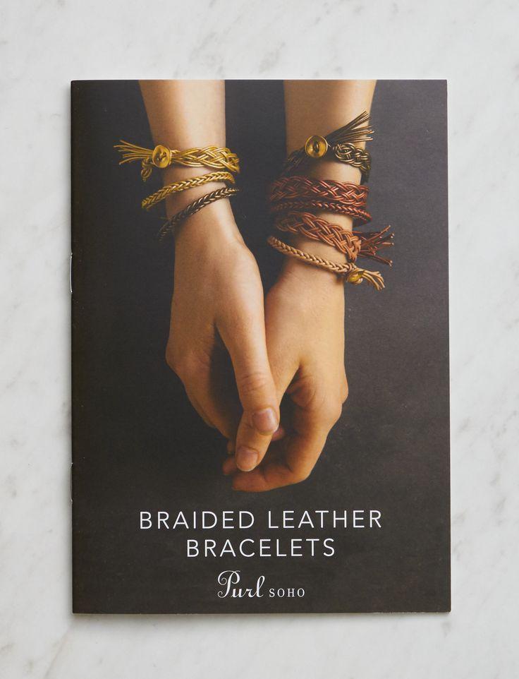Braided Leather Bracelet Pattern