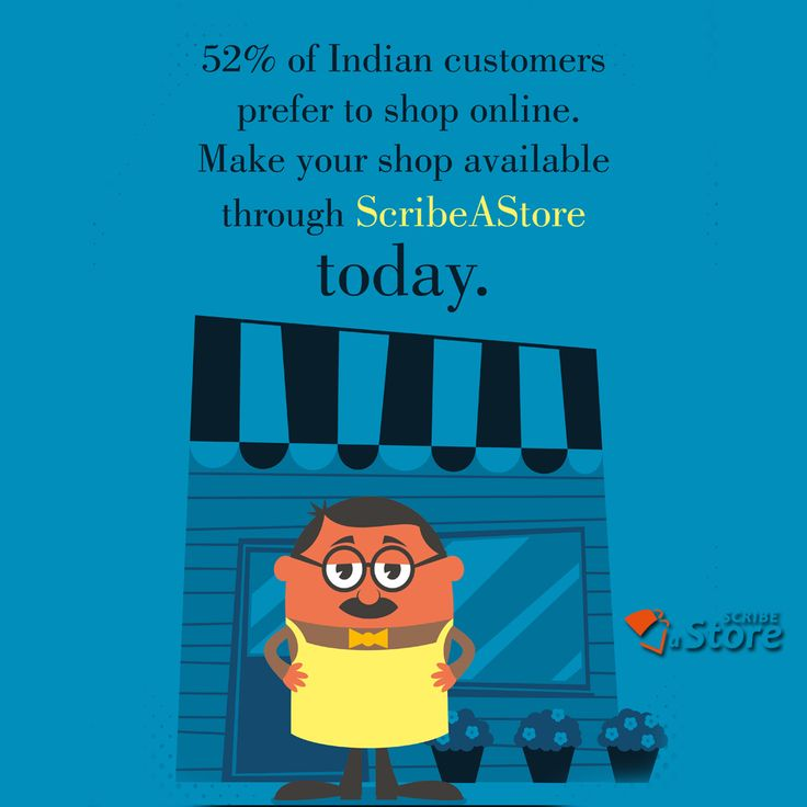 Indian Customers are becoming more and more #techsavvy. #ScribeAStore has made it simple for you to make your own personalized web store.Now #retailers just need to register and we will make sure that your #Online store is just the replica of your #offline store. #Onlinebusiness #eTail #eCommerce #India #HowToUseDay