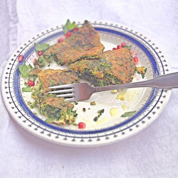 Kuku sabzi – Iransk Örtomelett   Nilla's Kitchen