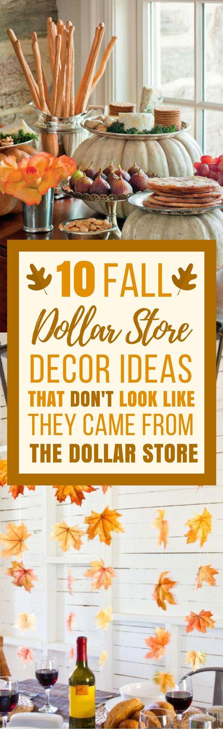 10 DIY-Dekoideen für den Herbst Sie können Artik…