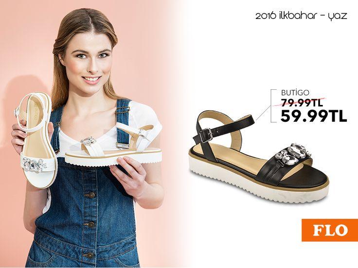 Sandalet modası parlak taşların etkisinde... #SS16 #newseason #summer #spring #ilkbahar #yaz #yenisezon #fashion #fashionable #style #stylish #flo #floayakkabi #shoe #ayakkabı #shop #shopping #women #womenfashion  #trend #moda #ayakkabıaşkı #shoeoftheday
