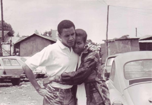 Barack and Michelle Obama got groovy in the 1970s ...