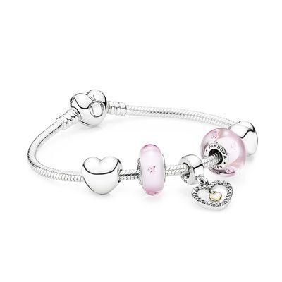 Bracelet Cœurs Délicats
