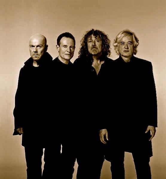 Jason Bonham, John Paul Jones, Robert Plant, Jimmy Page/ Led Zeppelin