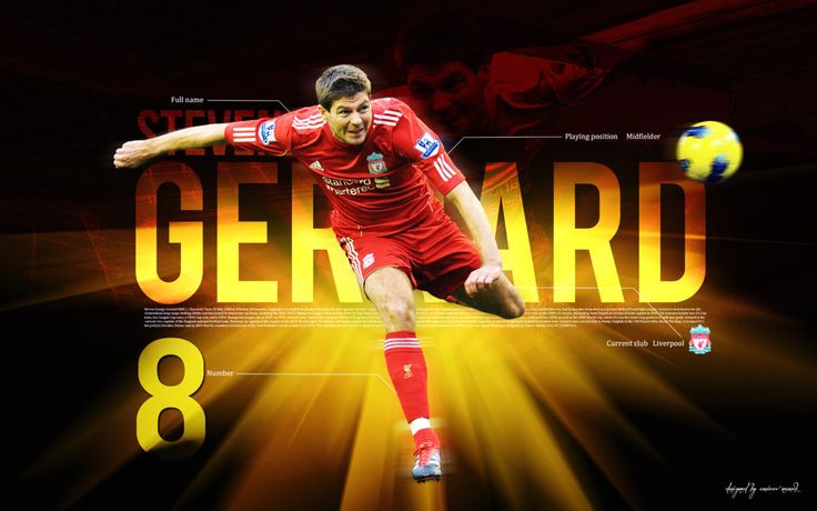 Steven Gerrard Wallpaper HD 2013 #4