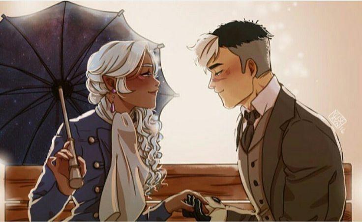 Victorian Princess Allura and Shiro from Voltron Legendary Defender
