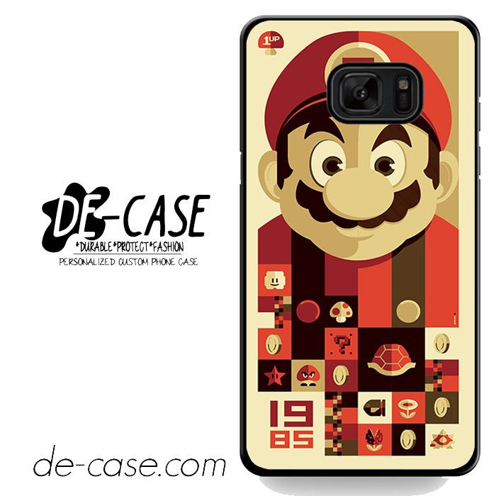 Mario Bross Old Game DEAL-6889 Samsung Phonecase Cover For Samsung Galaxy Note 7