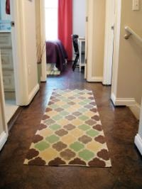 Alternative flooring ideas: Floors Idea, Brown Paper Bags, Paper Floors, Diy'S Idea, Unique Floors, Floors Option, Organizations Patterns, Paperbag Floors, Paper Bags Floors