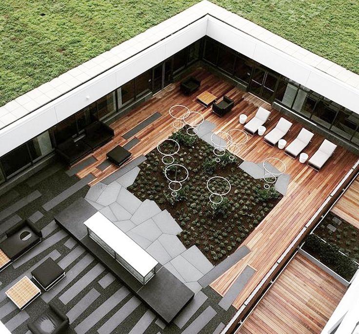 Corridor Roof Design: 12 Best NorthPoint Courtyard + Corridor + Roof Garden