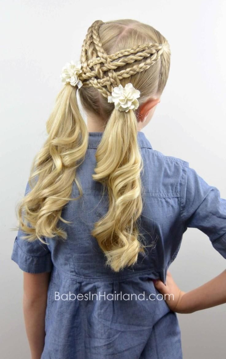How To Make A Woven Braid Twist In A Little Girl's Hair (or In Yours