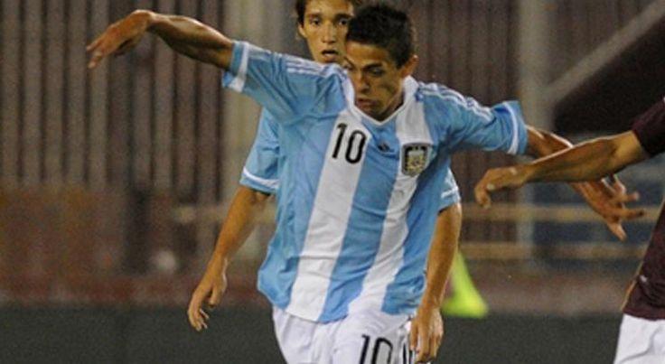Con la Selección Argentina (sub 20)