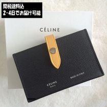 完売前に!【CELINE】アコーディオンカードホルダー Black&Corn