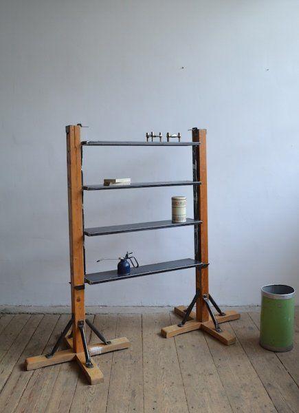 Bookshelf from gymnastic column - artKRAFT