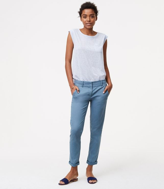 $59.50 These cropped skinny chinos are super polished