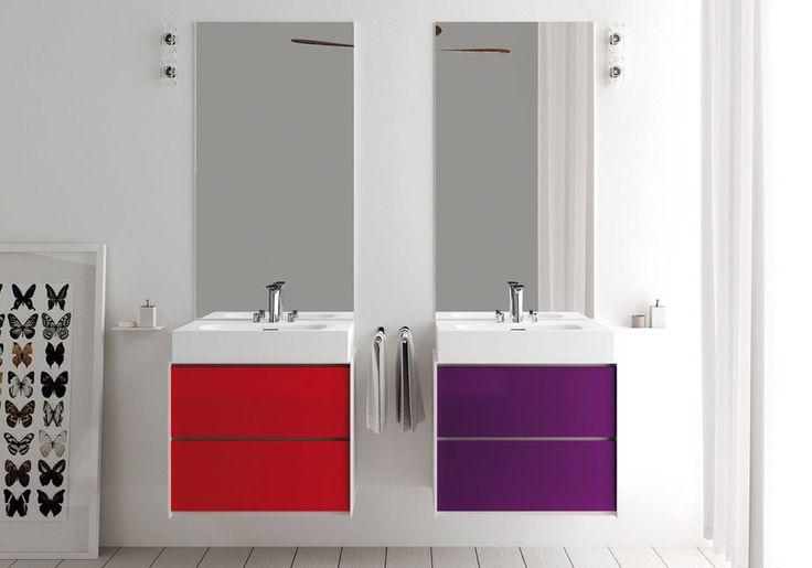 Mueble de baño de madera INSIDEOUT   Mobile contenitore - TEUCO