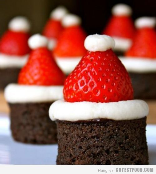 santa brownies!
