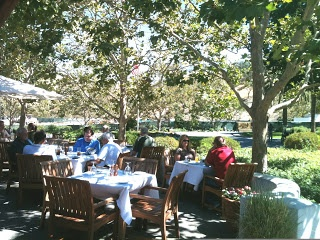 Dining at Wente's Winery in the Livermore Valley | spaswinefood