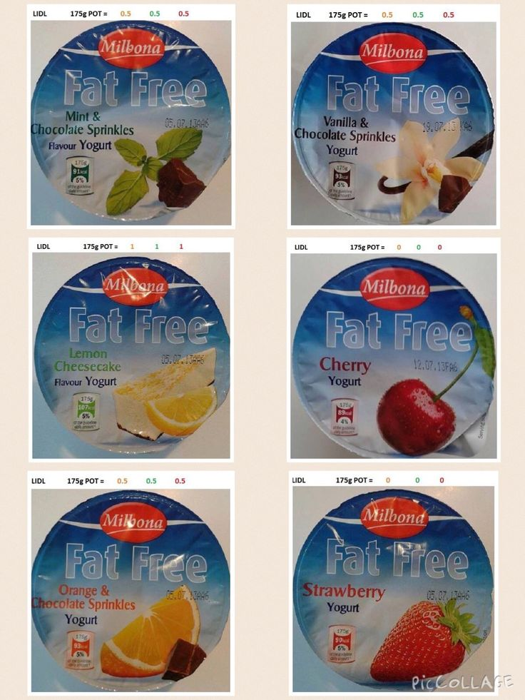 Lidl - Fat Free Yogurts | Slimming World - Lidl | Pinterest | Yogurt