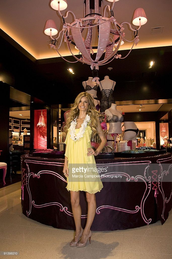 Marisa Miller celebrates the grand opening of Hawaii's first ever Victoria's Secret store at Ala Moana Center on October 1, 2009 in Honolulu, Hawaii.