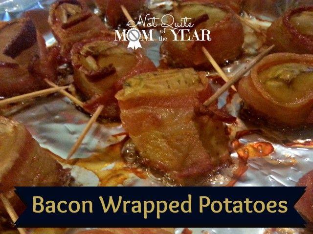 Bacon-Wrapped Potatoes Recipe — Dishmaps