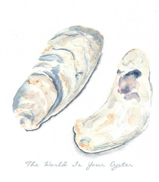 The World is Your Oyster by Danielle Driscoll