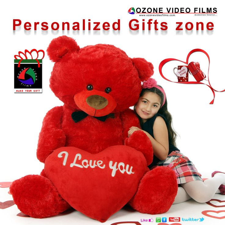 Ozone Video Films create you personalized gifts where you put ideal gift on selected item by Ozone Video Films.  http://www.ozonevideofilms.com/gifts.html
