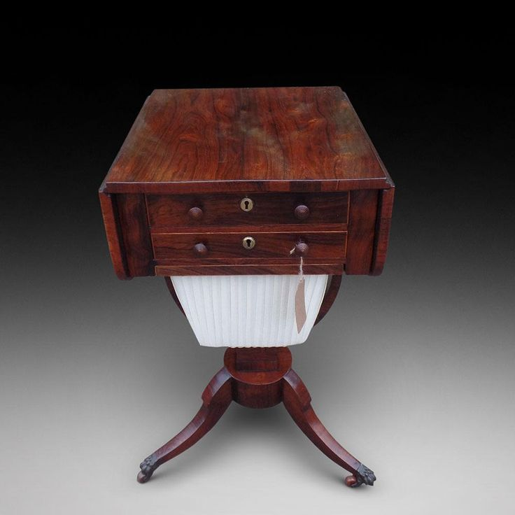 A Rosewood Work Table | Looking For Antiques - 84 Best Looking For Antiques Tables Images On Pinterest Antiques