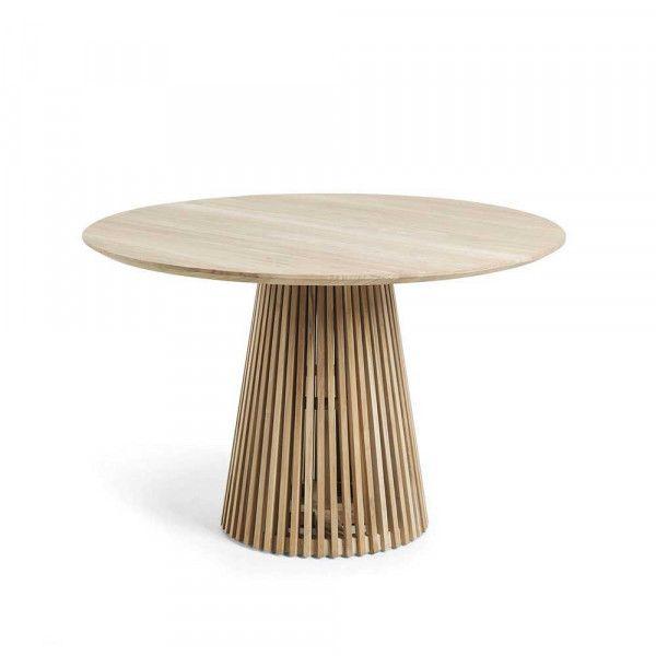 Esstisch Vajohara In 2020 Esstisch Rund Holz Teakholz Tisch Und
