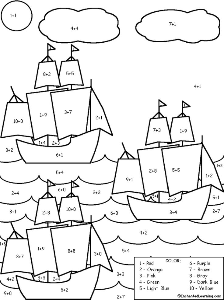 columbus three ships coloring pages - photo#17