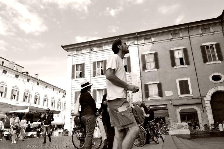 Guardando il Duomo, Ferrara - Barbara Gozzi©