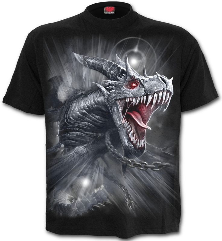 Camiseta Dragon's Cry Spiral Direct  #spiraldirect #ropaheavy #camisetasrock #rock #metal #heavy #xtremonline