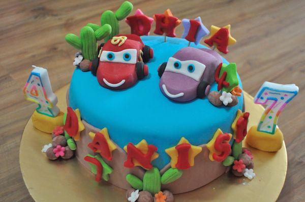 Pin op zelfgemaakte taarten/cupcakes