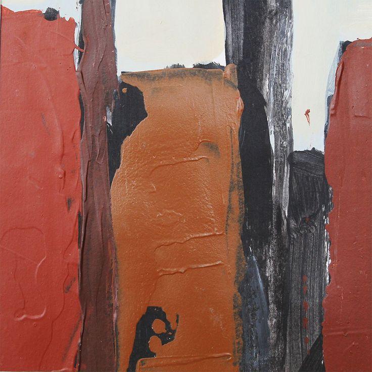 Kesit, 2014, Canson üzerine akrilik, 12x12cm