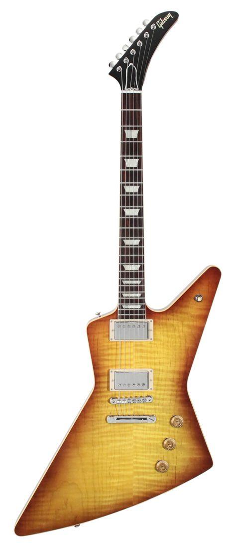 Gibson Custom Shop Benchmark Collection 2013 Limited Run 1958 Figured Explorer | Rainbow Guitars