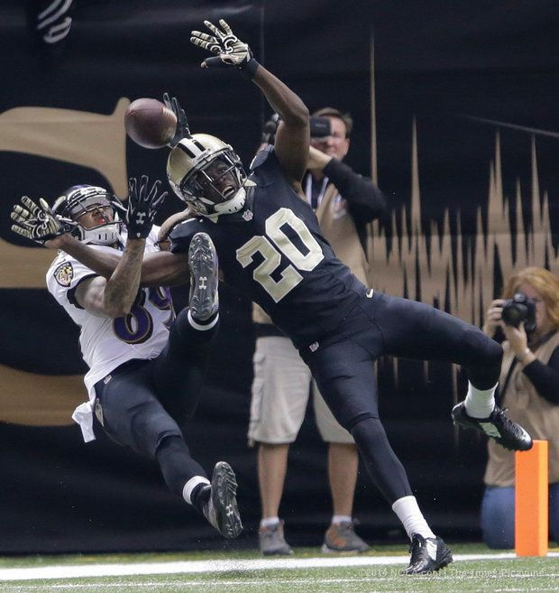 Steve Smith TD, Saints vs Ravens 2014