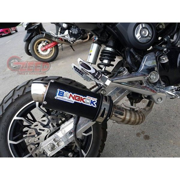 Honda Grom MSX125 Bangkok Low Mount Exhaust